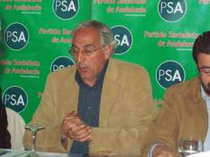 José A. Pino, cabeza de lista del PSA al Parlamento Europeo