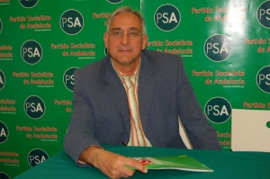 José Antonio Pino, candidato del PSA al Parlamento Europeo