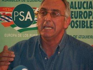 José A. Pino, candidato número uno al Parlamento Europeo