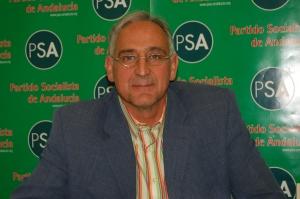 José A. Pino, portavoz nacional del PSA